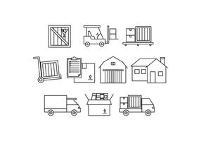 Free Moving Line Icon Vector
