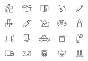 Free Movers Vectors