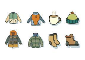 Gratis Windbreaker Jacket en Accessoires Vector