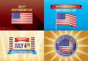 4th of July Independence Day Card