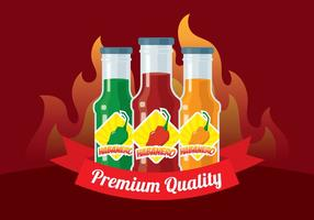 Habanero Sauce Background