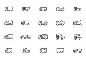Libre Camion Vectores