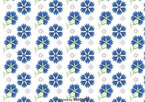 Bluebonnet blommor mönster vektor
