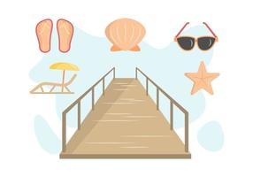 Gratis Uitstaande Boardwalk Vectors