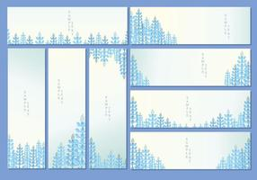 Bluebonnet Banner Vektor
