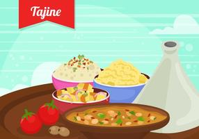 Tajine Marocco Food vector