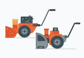 Snow Blower Illustration vector