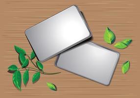 Canette d'étain en métal vide
