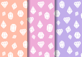 Gratis Sparkly Gems Patroon