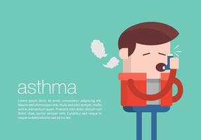 Asthma Background vector