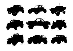 Offroad Silhouette Free Vector