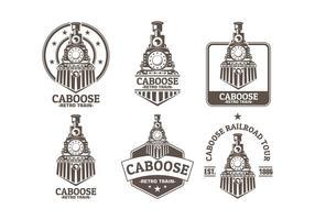 Logotipo de caboose vetor livre