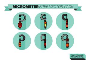 Pacote de vetores grátis para micrômetros