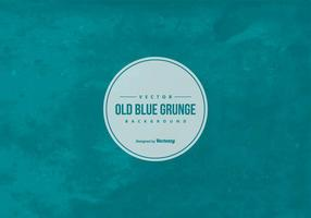 Fundo azul do grunge