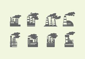 Smoke Stack Icon vector