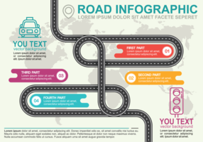 Vägkarta Infographic