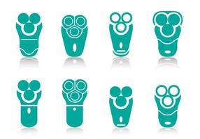 Elektrisch scheerapparaat pictogram