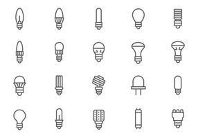 Gratis LED Lights Vectoren
