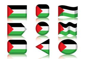 Vector-palestine-flag