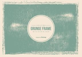 Old Grunge Frame Background vector