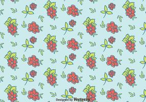 Hand Drawn Ditsy Floral Pattern Vector