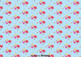 Flower Ditsy Print Pattern Vector