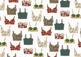 Bustier Patroon Vector