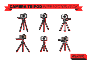 Camera Tripod Free Vector Pack