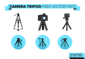 Camera Statief Gratis Vector Pack