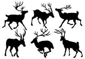 Ícones do vetor Caribou