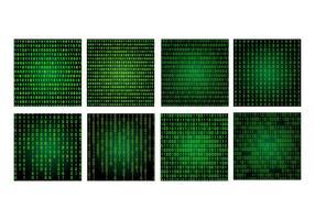 Paquete de fondo Matrix vector