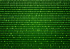 Fondo verde de la matriz del vector
