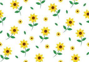 Patrón floral sin costuras