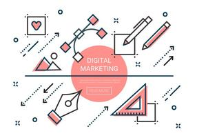 Free Linear Digital Marketing Elements