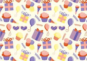 Gratis Kids Party Pattern Vectors
