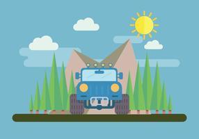4WD Abenteuer Vektor