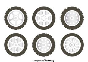 Alloy Wheels Collectie Vector