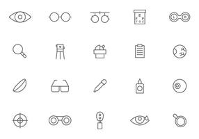 Free Optometry Vectors