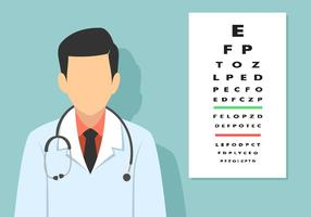 Alphabet Eye Test Free Vector