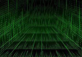 Hall Matrix Bakgrund Vector