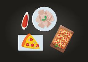 Italienisch Dish Vektor