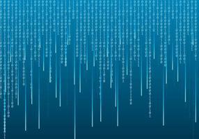 Matrix Bakgrund Vector