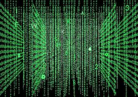 Cool Matrix Background Vector