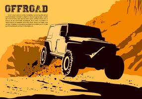 Jumping Offroad Free Vector