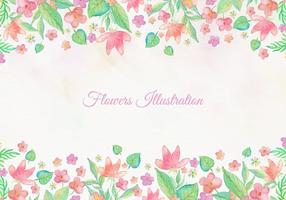 Free-vector-card-with-watercolor-floral-frame-design