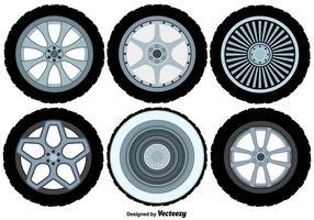 Conjunto de ruedas de aleación de vector