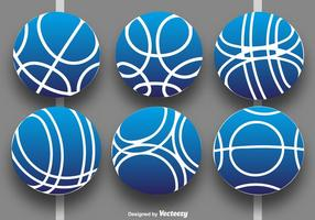 Vector Collection de Bocce Balls