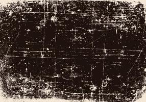 Black Scratched Grunge Background vector