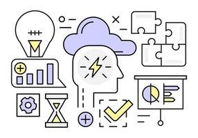Kostenlose Linear Startup Vektorelemente