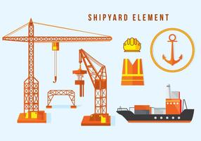 Shipyard Element vector
